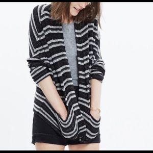 Madewell Stripe Upbeat Cardigan Size XS